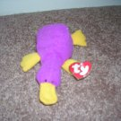 TY TEENIE BEANIE BABIES ~ PATTI THE PLATYPUS ~ EXCELLENT CONDITION WITH TAG!~ FROM 1993 RETIRED!
