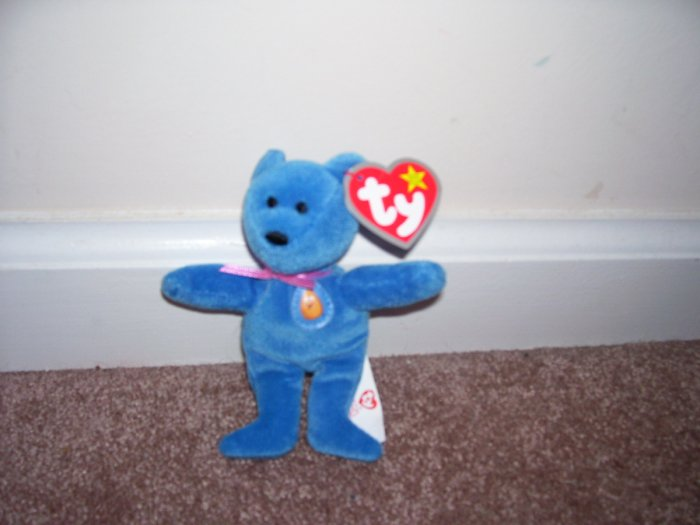 TY TEENIE Beanie Baby McNUGGETS The Bear MINT WITH TAG! 2004
