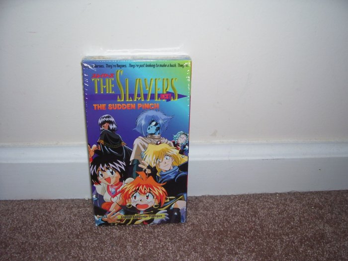 Anime THE SLAYERS NEXT The Sudden Pinch VHS NEW! 1996