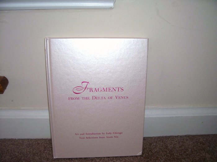 FIRST EDITION! FRAGMENTS FROM THE DELTA OF VENUS Erotic Art Book NEW! Hardcover PRINTED IN ITALY