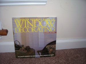 HUNTER DOUGLAS * GUIDE TO WINDOW DECORATING * Book 2nd Edition EXC HARDCOVER w/DUSTJACKET