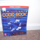 Prima Games THE ULTIMATE CODE BOOK 2001 EDITION ~ FOR VIDEO GAMES