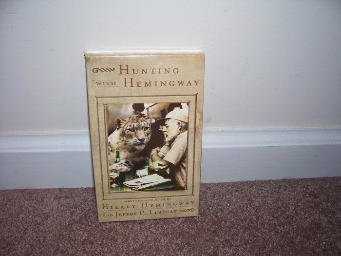 HUNTING WITH HEMINGWAY ~ AUDIO BOOK ~ BRAND NEW! 2 TAPES 3 HOURS
