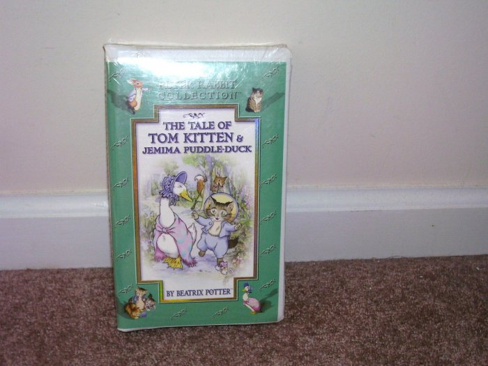 Beatrix Potter THE TALE OF TOM KITTEN & JEMIMA PUDDLEDUCK VHS VIDEO NEW! CLAMSHELL