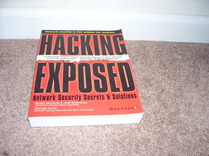 HACKING EXPOSED Book NETWORK SECURITY & SOLUTIONS