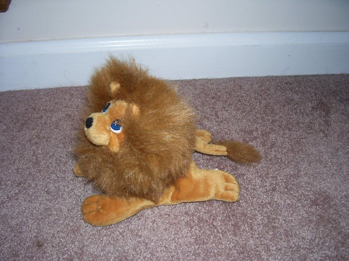 PRECIOUS MOMENTS * LION * BEANIE Plush EXCELLENT CONDITION! RARE! NOT A TENDER TAIL!