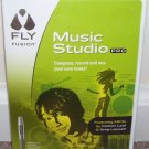 Leap Frog FLY FUSION * MUSIC STUDIO PRO * MIXER BOARD WITH CD-ROM NEW!