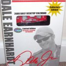 DALE EARNHARDT JR * 2008 DAILY DESKTOP BOXED CALENDAR * w/DIECAST CAR!