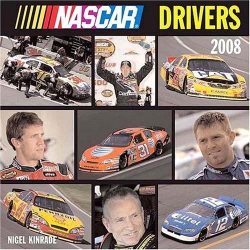 NASCAR DRIVERS 2008 WALL CALENDAR * NEW *