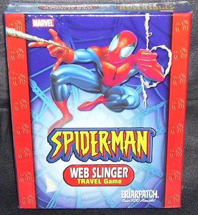 SPIDER-MAN WEB SLINGER TRAVEL CARD GAME * NEW & SEALED! *