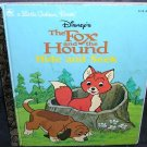 Disney THE FOX AND THE HOUND * HIDE AND SEEK * LITTLE GOLDEN BOOK EXC COND! 1981