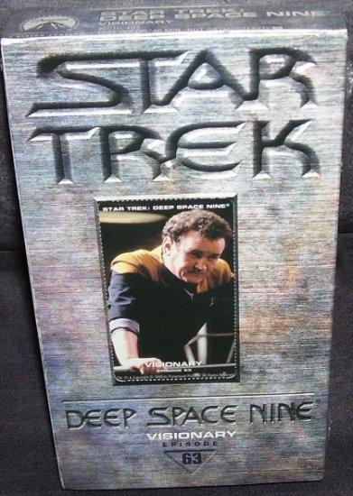 Star Trek DEEP SPACE NINE * VISIONARY * VHS VIDEO NEW & SEALED!