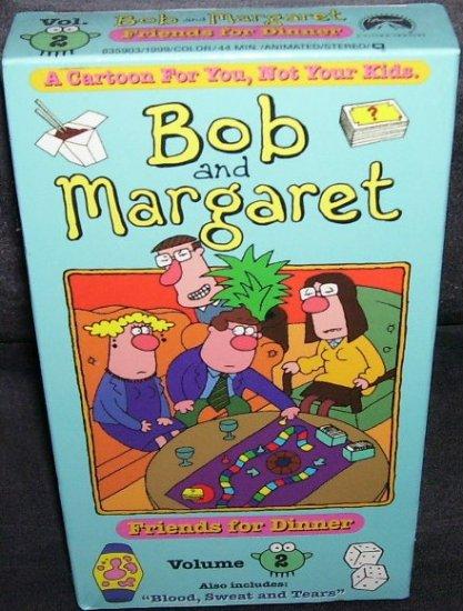 BOB AND MARGARET * FRIENDS FOR DINNER * VOLUME 2 VHS NEW!