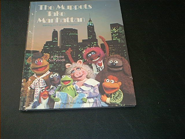 The Muppets Take Manhattan Movie Storybook * EXCELLENT CONDITION * 1984 H/C