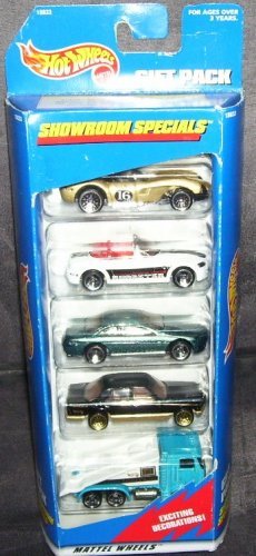 Hot Wheels * SHOWROOM SPECIALS 5 PACK GIFT SET * NEW! 1997