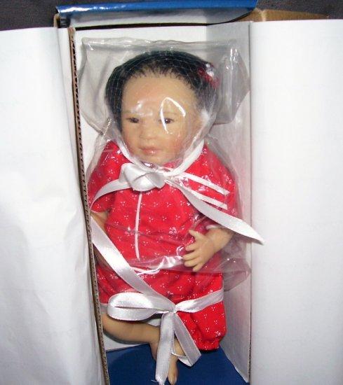 "Masterpiece Gallery * LIAN * 10"" * ASIAN * SILICONE VINYL BABY DOLL NIB! LE #64! 2007"