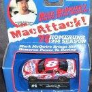 Mark McGwire's MacAttack 1998 diecast Car Bobby Hillin Jr (Driver) w/COA MIB