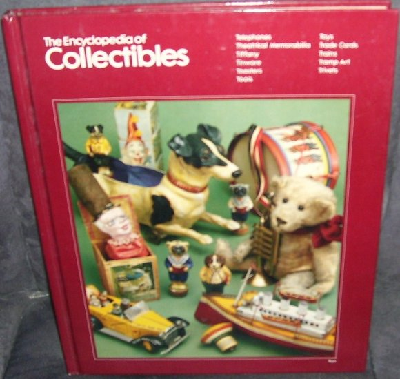 THE ENCYCLOPEDIA OF COLLECTIBLES Book From TELEPHONES TO TRIVETS EXC!