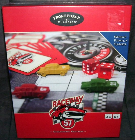 RACEWAY 57 * DISCOVERY EDITION * RACING Board Game NEW! HTF!