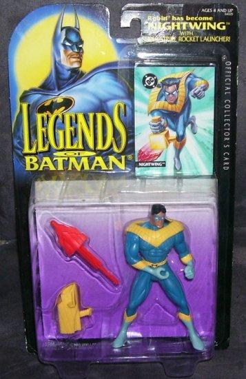 LEGENDS OF BATMAN * NIGHTWING * Action Figure NEW! Kenner 1994