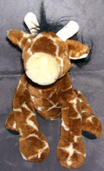 "BABY GIRAFFE PLUSH 9 1/2"" SITTING SOFT AND CUDDLY!"