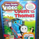 STORY READER VIDEO PLUS+ * THOMAS & FRIENDS * COUNT ON THOMAS BOOK & CARTRIDGE NEW!