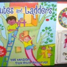 CHUTES AND LADDERS * MAGICAL TREE HOUSE ADVENTURE * BOOK/GAME NEW!