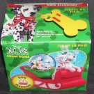 McDonald's DISNEY 101 DALMATIONS * SNOW DOME * DOG SLEDDING NIB 1996
