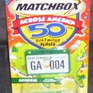 MATCHBOX ACROSS AMERICA * GEORGIA * VW PANEL TRANSPORTER DIECAST 2001