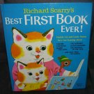 Richard Scarry BEST FIRST BOOK EVER! Hardcover 1979