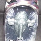 STAR WARS TITANIUM Limited Diecast BOBA FETT SILVER SLAVE 1 VEHICLE NEW!
