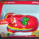 Baby Genius DJ'S WACKY TRAVELS Electronic Developmental Baby Toy NIB
