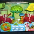Fisher Price It's A Big Big World SMOOCH & WINSLOW MARMOSET HOUSE NEW 2007