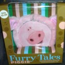 Furry Tales PIGGIE Board Book & Dress Up Playset NIB