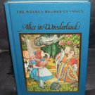 Alice in Wonderland Weekly Reader Classic Book 1983 LIKE NEW!