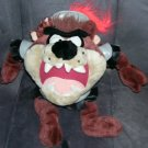 "Warner Brothers TAZMANIAN DEVIL KNIGHT Large Plush 13"" tall From 1997"