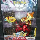 POKEMON Diamond & Pearl ATTACK BASES CHIMCHAR Action Figure NEW