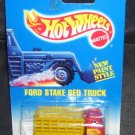 Hot Wheels FORD STAKE BED TRUCK Diecast NEW 1991 RARE