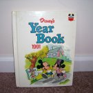 Disney's YEAR BOOK 1991 Hardcover Stories & Activities