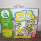 Leap Frog My Own Learning Leap NEW BABY! MY NEW FRIEND! Book & Cartridge NEW!