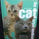 THE CAT BREED HANDBOOK by Angela Rixon HC 2005 NEW!