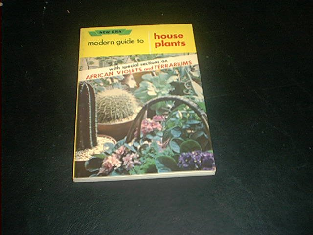 MODERN GUIDE TO HOUSE PLANTS BOOK 1961 EXC COND! HTF