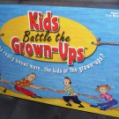 KIDS BATTLE THE GROWN-UPS Board Game NEW 2002