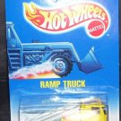 Hot Wheels YELLOW RAMP TRUCK Diecast NEW 1991 #187