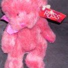 RUSS Memories of Love LUV'UMS PINK Plush Bear w/TAG RARE