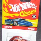 Hot Wheels Classics ORANGE VW BUG Diecast #25 of 25 Series 1