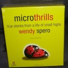 MICROTHRILLS By Wendy Spero Audio CDs NEW UNABRIDGED 6 cds
