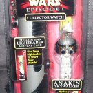Star Wars Episode 1 ANAKIN SKYWALKER Collector Watch with Display Case NEW!