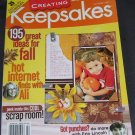 Creating Keepsakes Scrapbooking Magazine October 2005 Issue NEW! UNREAD