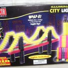 VECTA Illuminated CITY LIGHTS Building Playset NEW IN BOX 2002